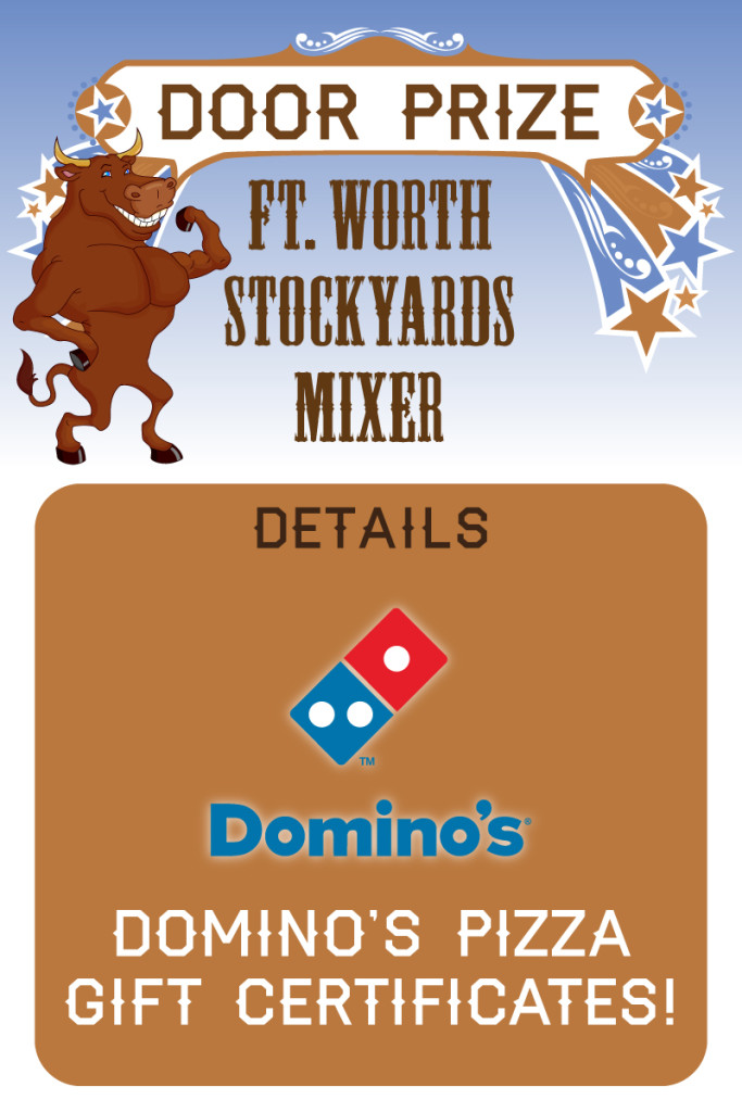 Stockyards-mixer-door-prize-DominosPizza